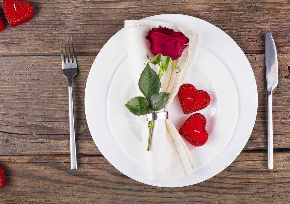 Valentines Themed Food